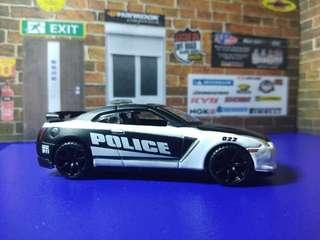 Nissan GT R35 POLICE