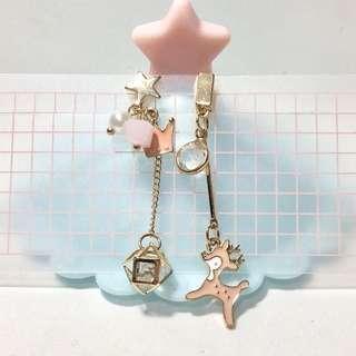 耳夾🧡全新粉紅小鹿款(21)