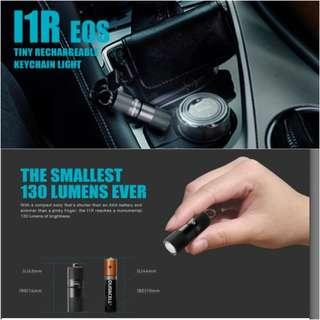 (In-stock) Olight I1R EOS 130 Lumens Rechargeable Keychain Light