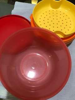 Tupperware tapao set take away canister