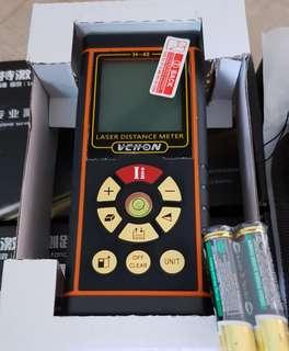 Laser distance meter measuring device