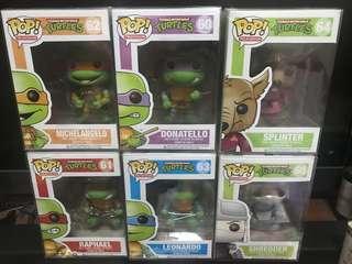 Funko Pop TMNT Teenage Mutant Ninja Turtles Bundle