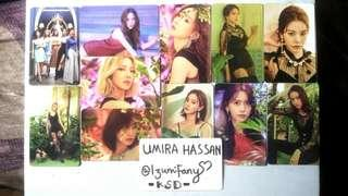 SNSD Lil' Touch Kihno Photocard