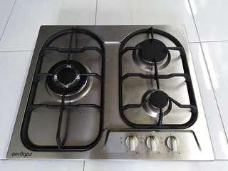 Stainless steel cooker hobs