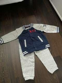 Cool Jersey Jacket set