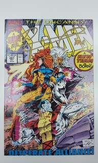 Uncanny X-Men #281 (1991,1st Series) Signed and Autographed by Asian Art Legend Whilce Portacio! Story By Legends Jim Lee & John Bryne! Comes with COA and Photo. MASTERPIECE Must-Have Cover Issue!