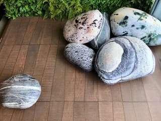 大理石,石春cushion, 抱枕,全新,約35x30cm
