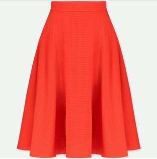 Original uniqlo rok flare orange