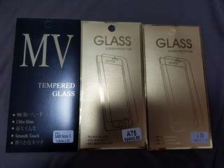 Screen protector ,A75,i5,Samsung note 5