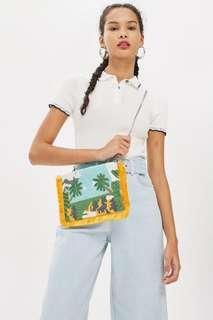 Topshop holiday clutch or sling