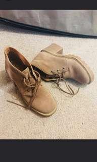 Topshop Suede Look Boots RRP $125