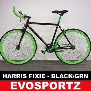 🚚 Harris Green-Black Fixie on Promotion