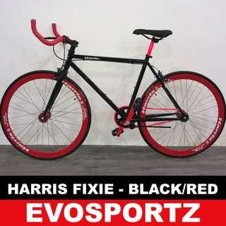 🚚 Harris Red-Black Fixie on Promotion