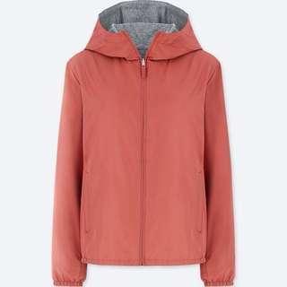 FREE SHIPPING! Uniqlo Reversible Parka Jacket Pink