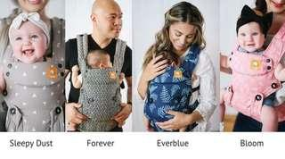 Baby tula explore series front facing carrier forever sleepydust bloom everblue