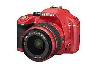 Pentax Kx Red