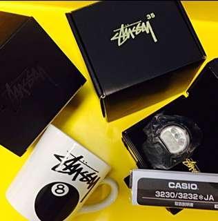 "Stussy x G-Shock DW-6900 ""35th Anniversary"" gshock dance kpop birthday suprise"