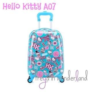A07 18 Inch Hello Kitty Kids Luggage Travel Cabin Size Girls Trolley Suitcase Holiday