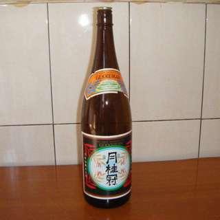 日本清酒 / 月桂冠清酒 空酒瓶 C-79