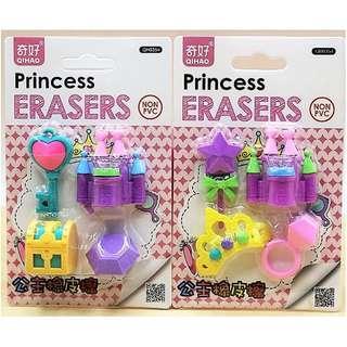 3D Puzzle Eraser Set - Princess