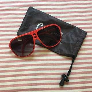 🚚 🛒清倉特價🛒 紅色 膠框 墨鏡 太陽眼鏡