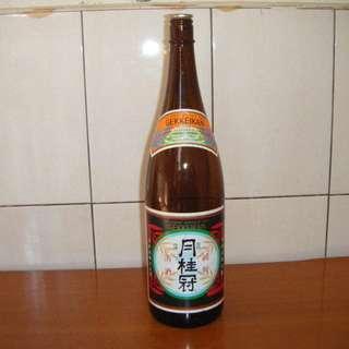 日本清酒 / 月桂冠清酒 空酒瓶 C-80