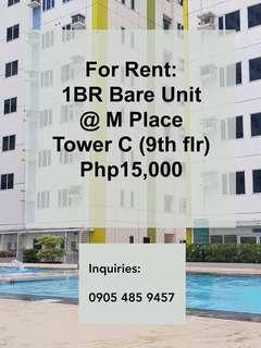Condos and Parking Space for Rent