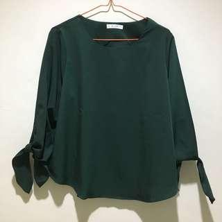 Rudy Green Blouse