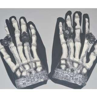 Halloween  Skeleton Glove-Adult