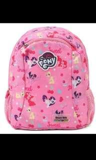 Brand New Authentic Dr Kong Little Pony School Bag