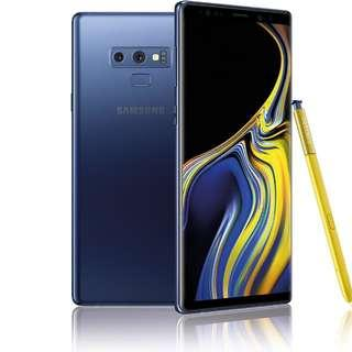 Brand new seal singapore set Samsung note 9 (blue)