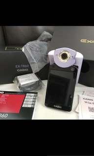 9成新 正貨 Casio tr60 粉紫色