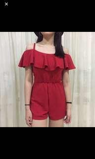 RED JUMPSUIT RE-PRICE