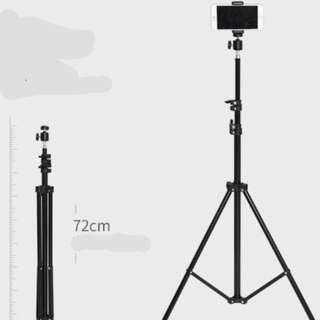 Mobile Live Support Tripod Clip portable landing quick Outdoor video photography camera self-made tripod PC multifunction anchor shake-up ipad drive device lazy Rack