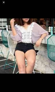 RE-PRICED! BATWING TOP