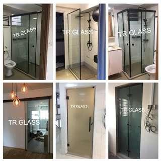 Black Series Doors, Shower Screen, Fix Panel