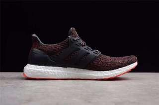 🚚 Adidas Ultra Boost 4.0 Red Size 36-48