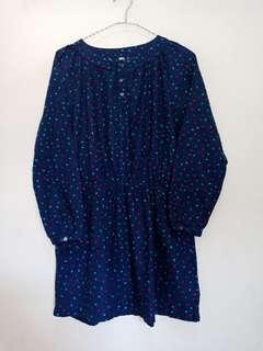 Dress anak uniqlo (150)