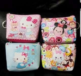 Hello Kitty/ Tsum Tsum coin pouch