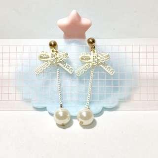 耳夾🧡全新蝴蝶珍珠款(21)