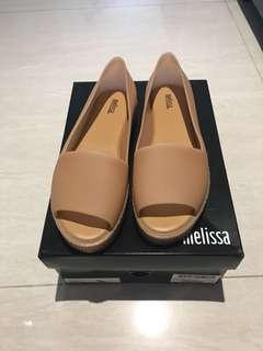Melissa USA 6 Puzzle Beige Wedge Shoes