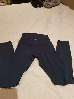 Lululemon Align Full Length Pants - deep green - size 2