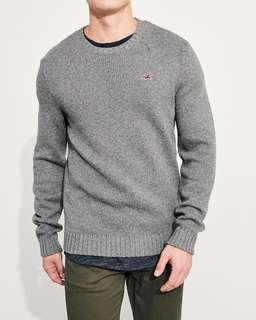 [INSTOCK] Hollister Icon Wool-Blend Sweater