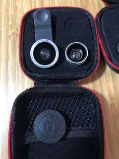 🚚 Fish eye lenses and Wide eye lenses with case