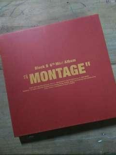 BLOCK B MONTAGE ALBUM
