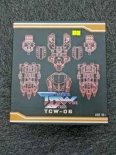 tdw transform dreamwave tcw-06 dinobot volcanicus upgrade kit