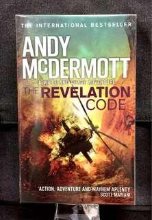 #3×100《NEW ! + The International Bestseller Spy, War , Terrorist Action-Packed Fiction》Andy McDermott - THE REVELATION CODE : A Wilde And Chase Adventure