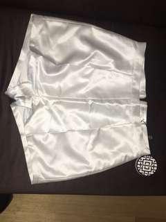 Misha Collection satin shorts
