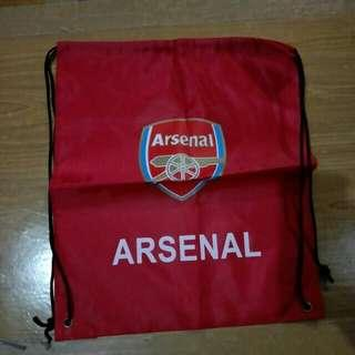 Arsenal Drawstring Beg