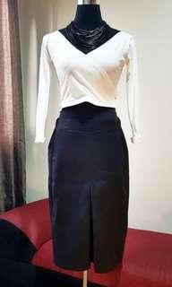 BUNDLE SKIRT AND CROPPED LONGSLEEVE (3)